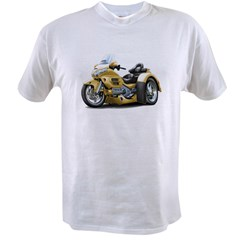 Goldwing Gold Trike Value T-shirt