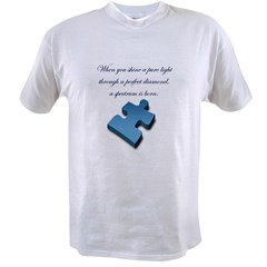 Pure Light, Perfect Diamond Value T-shirt