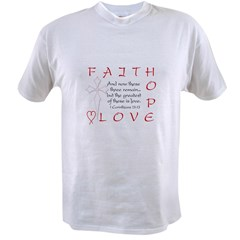 Greatest Is Love Value T-shirt