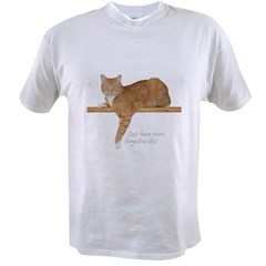 Orange Cat Ginger Kitty Value T-shirt