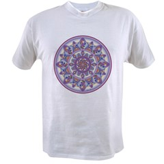 LILAC FLOWER-2 copy Value T-shirt