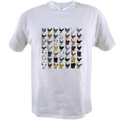49 Hen Breeds Value T-shirt
