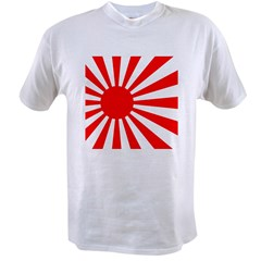 JAPANESE RISING SUN FLA Value T-shirt