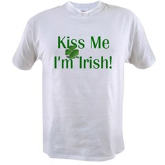 Kiss Me I'm Irish Value T-shirt