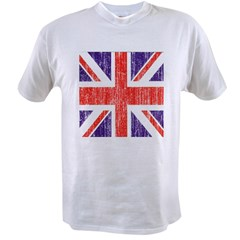 Distressed British Flag Value T-shirt