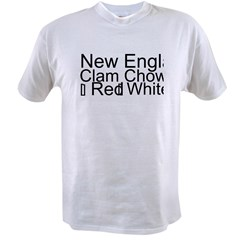 Clam Chowder Value T-shirt