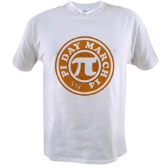 Happy Pi Day 3/14 Circular De Value T-shirt