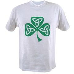 Celtic Shamrock Value T-shirt