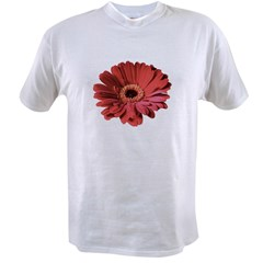 Red gerbera flower Value T-shirt