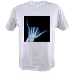 shaka sign by gravityx9 a.jpg Value T-shirt