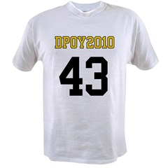 DPOY2010 43 Value T-shirt