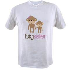 Monkey Big Sister Value T-shirt