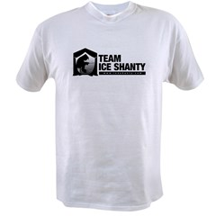 Team Iceshanty Ash Grey Value T-shirt