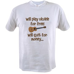 funny ukulele Value T-shirt