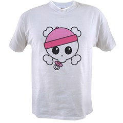 Baby Girl Skully Value T-shirt