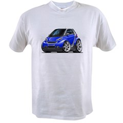 Smart Blue Car Value T-shirt
