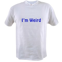 weird Value T-shirt