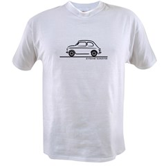 Fiat 500 Cinquecento Value T-shirt