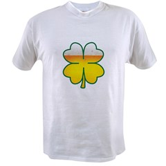 Beer Leaf Clover St. Patrick's Day Value T-shirt