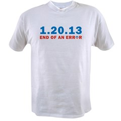 End Of Error Value T-shirt
