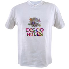 Disco Rules Value T-shirt