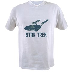 Retro Enterprise Value T-shirt