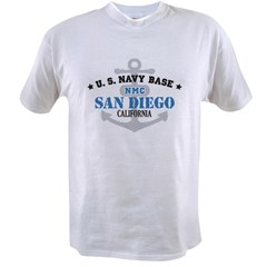 US Navy San Diego Value T-shirt