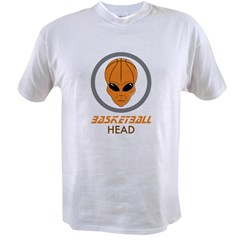 Basketball Head Value T-shirt
