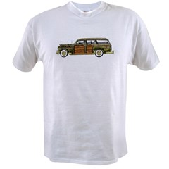 Classic Woody Station wagon Value T-shirt