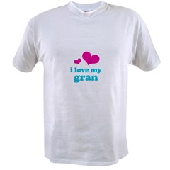 i love my gran (pink/blue) Value T-shirt