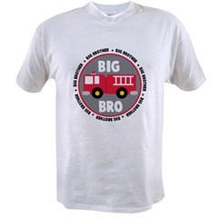 Big Brother Fire Truck Value T-shirt