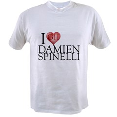 I Heart Damien Spinelli Value T-shirt