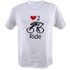 Love 2 ride Value T-shirt
