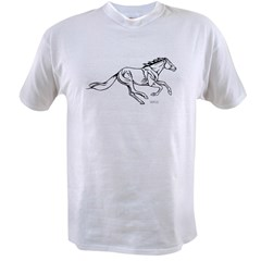 Thoroughbred Race Horse Value T-shirt