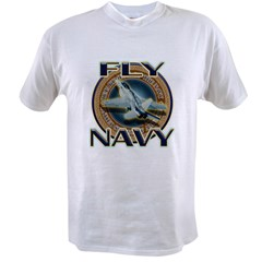 Fly Navy Value T-shirt