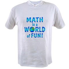 World of Math Value T-shirt