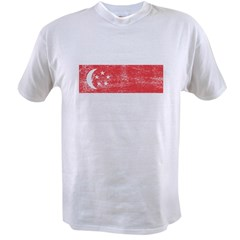 Singapore Flag Value T-shirt