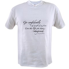 Henry David Thoreau Value T-shirt