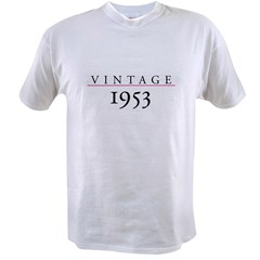 Vintage 1953 Value T-shirt