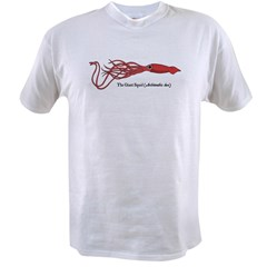 Giant Squid Ash Grey Value T-shirt