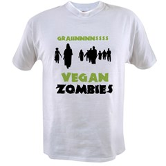 Vegan Zombies Men's double dry short sleeve mesh s Value T-shirt