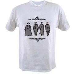 &quot;Lawmen or Outlaws&quot; Value T-shirt