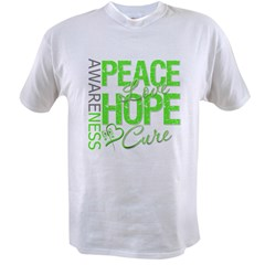 Muscular Dystrophy PeaceLoveHope Value T-shirt