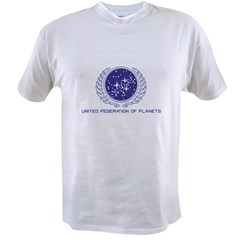 United Federation of Planets Value T-shirt