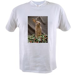 Christmas Bunny Value T-shirt