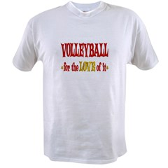Volleyball Love Value T-shirt