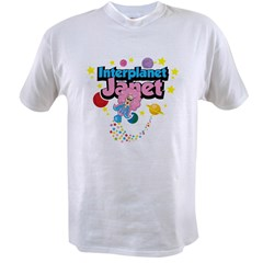 Interplanet Janet Value T-shirt
