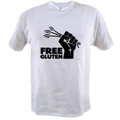 Free Gluten Value T-shirt