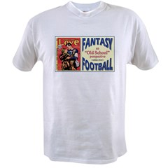 Old School Fantasy Football Value T-shirt