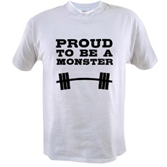 Lift like a MONSTAR Value T-shirt